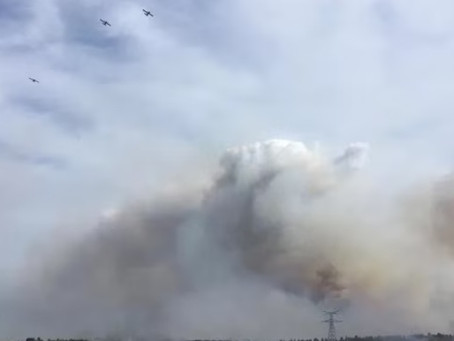اندلاع حريق جنوب فرنسا