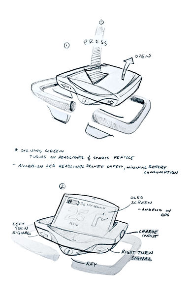 Mobility Scooter Module Concept - Adam Book