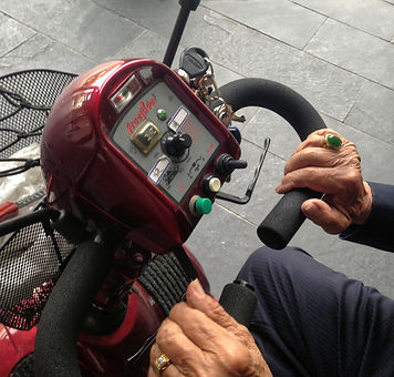Mobility Scooter Interface