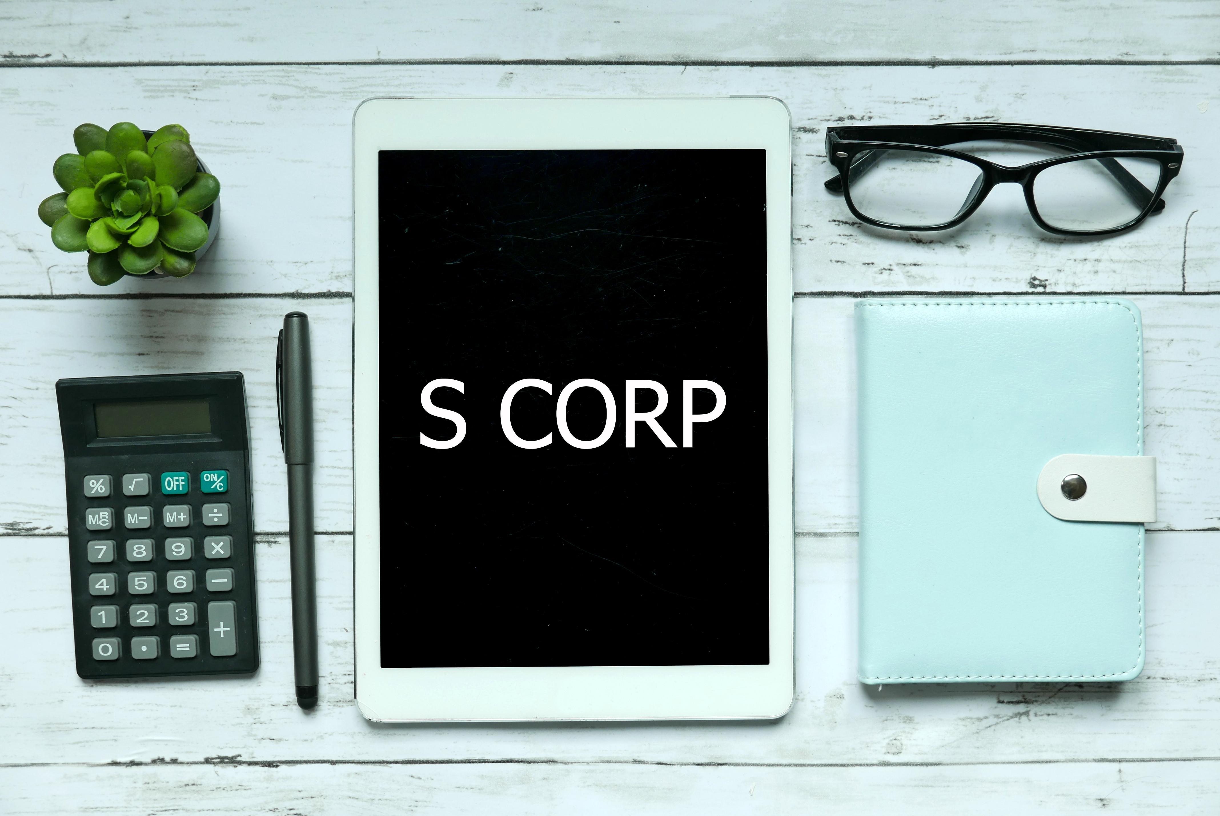 S-Corp Tax Return Preparation