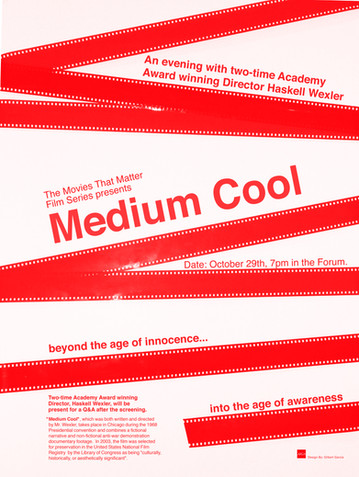 Medium Cool Movies That Matters Film Series