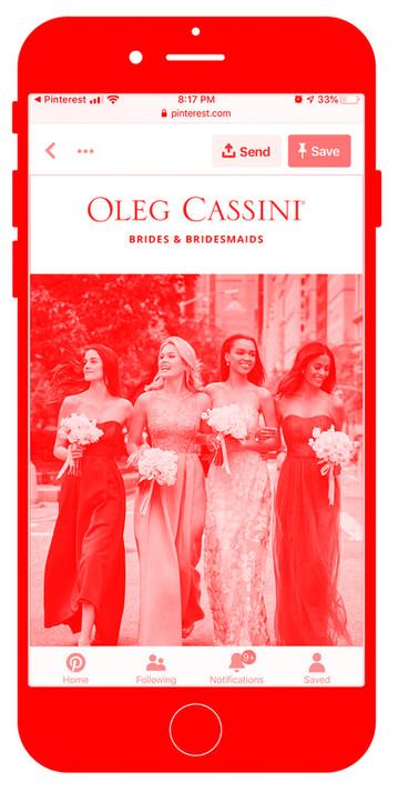 Oleg Cassini Bridesmaids Launch