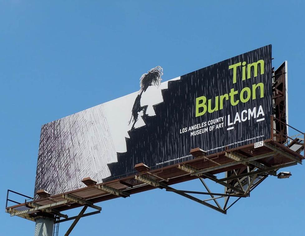 LACMA Tim Burton Exhibition