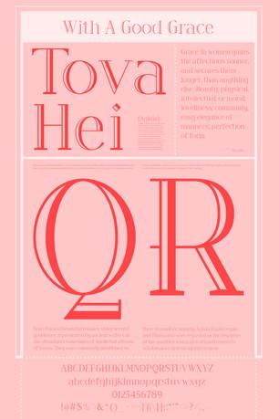 Tove Hei Typeface