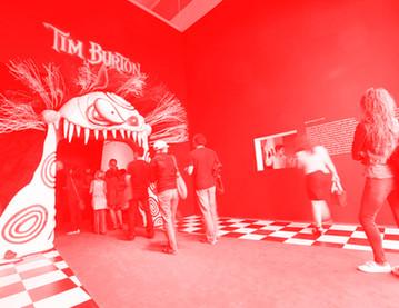 Tim Burton LACMA Exhibition