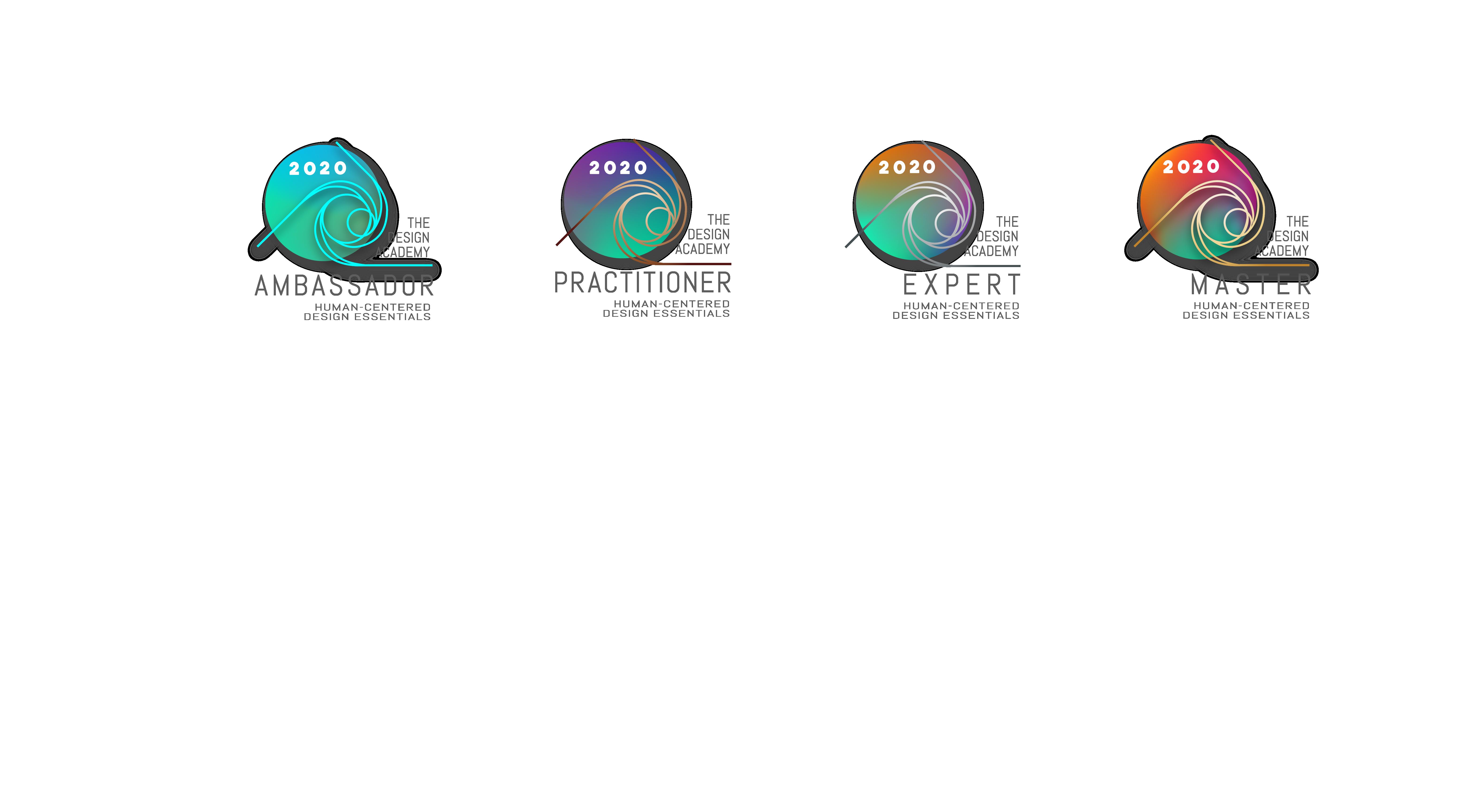 The Design Academy Essential Pathways Badges