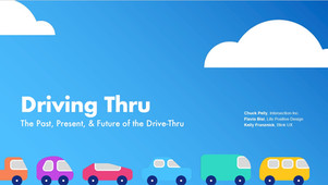 Designing the Drive Thru Experience