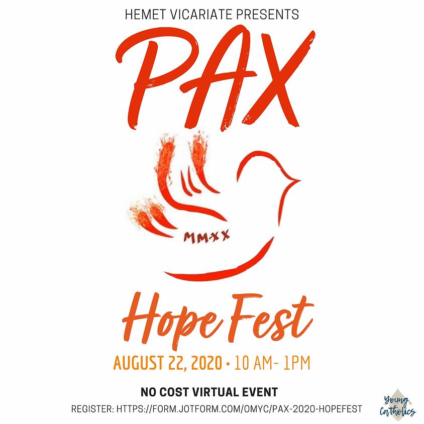 PAX 2020 Hope Fest