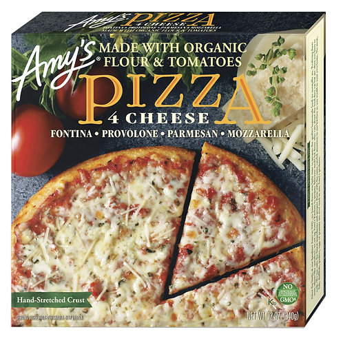 Amy's Kitchen 4 Cheese Pizza