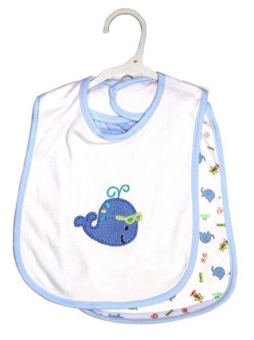 Owen Baby 2-pc Bib Set