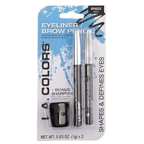 LA Colors Eyeliner/Brow Pencil
