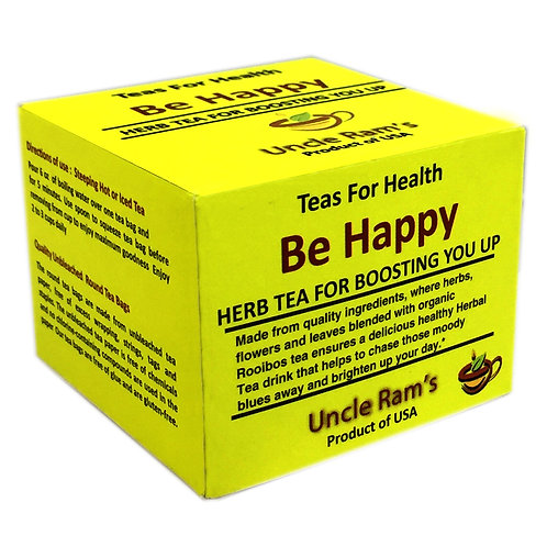 "Uncle Ram's ""Be Happy"" Health Tea"