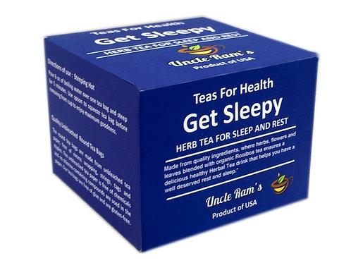 "Uncle Ram's ""Get Sleepy"" Health Tea"