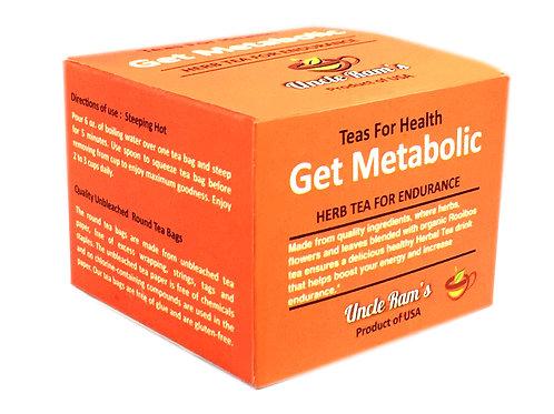 "Uncle Ram's ""Get Metabolic"" Health Tea"