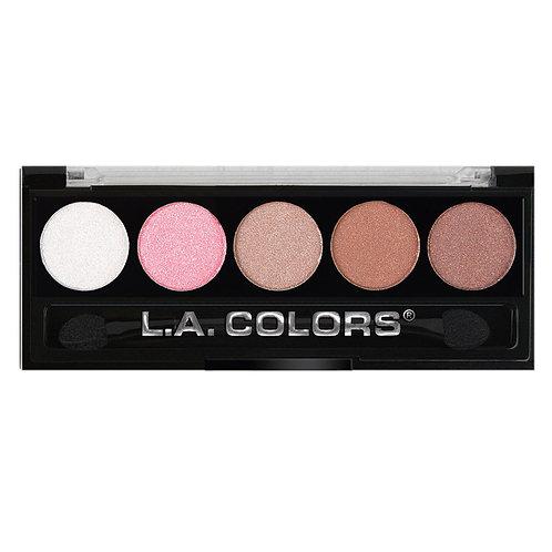 LA Colors 5 Color Metallic Eyeshadow