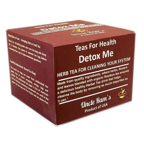 "Uncle Ram's ""Detox Me"" Health Tea"