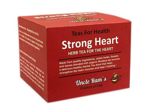 "Uncle Ram ""Strong Heart"" Health Tea"
