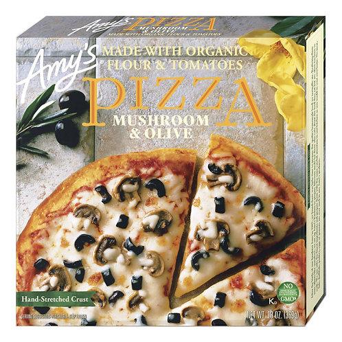 Amy's Kitchen Mushroom & Olive Pizza