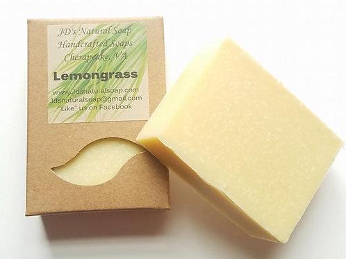 lemon grass-scent soap