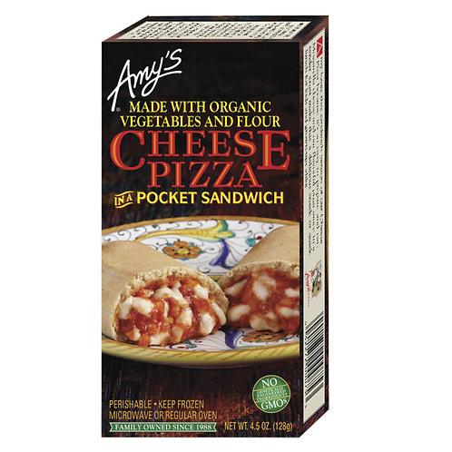 Amy's Kitchen Cheese Pizza Pocket Sandwich