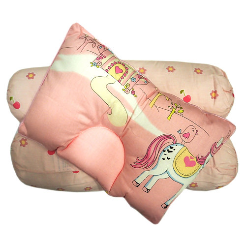 Owen Baby 2-pc Bolster & 1-pc Pillow Set