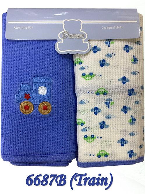 Owen Baby 3-pc Thermal Blanket