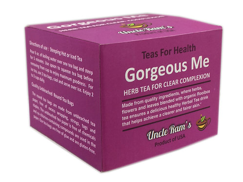 "Uncle Ram's ""Gorgeous Me"" Health Tea"