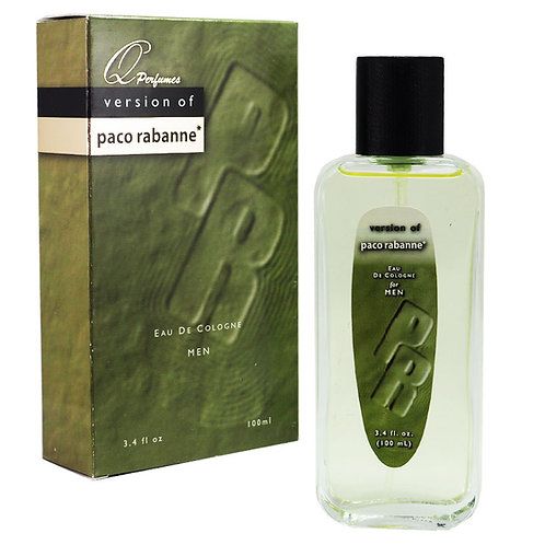 copy of Elegant Collection Perfume Paco Rabanne for Men - Made in USA (100ml)