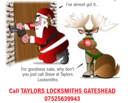 Don't get locked out this Christmas....