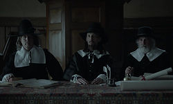 Newcastle witch trials puritans in Newca