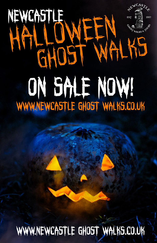 Halloween in Newcastle 2020! Halloween Ghost Walks