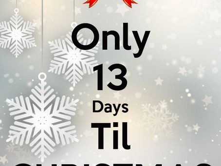🌲🎁 Only 13 days until Christmas 🌲🎁