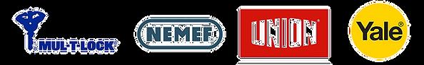 Mul-T-Lock-NEMEF-Union-Yale-Locks-Logos