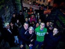 ghost walkers at Newcastle Ghost Walks.j