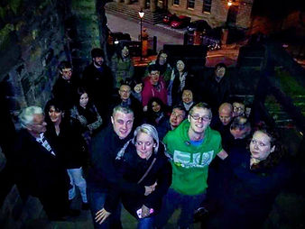 ghost walkers at Newcastle Ghost Walks.j