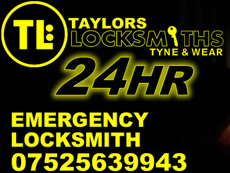 Taylors Locksmiths, Gateshead - Your Local & Reliable Locksmith 👍.