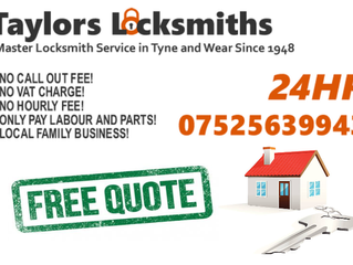 🏆 Voted TOP 3 Locksmiths in the Gateshead Area 🏆