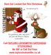Don't get locked out this Christmas.....