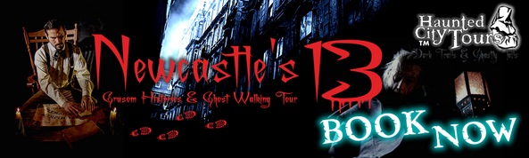 This header was designed for a large project for Haunted City Tours who are based in Newcastle and Newquay. This image was designed for a new tour they are launching.