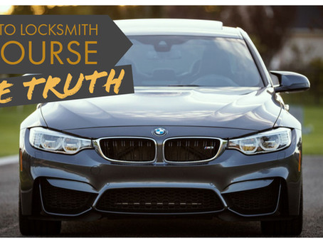 Auto Locksmith Training THE TRUTH!