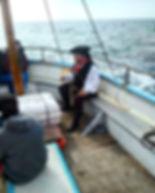 Pirate Steve, Newquay Boat Trip, Smuggle