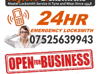 Taylor's Locksmiths Voted TOP 3 Locksmiths in the Gateshead Area