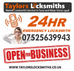 Taylor's Locksmiths Voted TOP 3 Locksmiths in the Gateshead Area