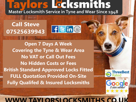 Your Trusted & Reliable Master Locksmith in Gateshead, Tyne & Wear