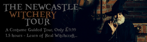 Newcastle witchcraft trails, a guided tour, history, add