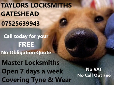 Need a Locksmith?  Choose your Local & Reliable Locksmith in Gateshead 👍