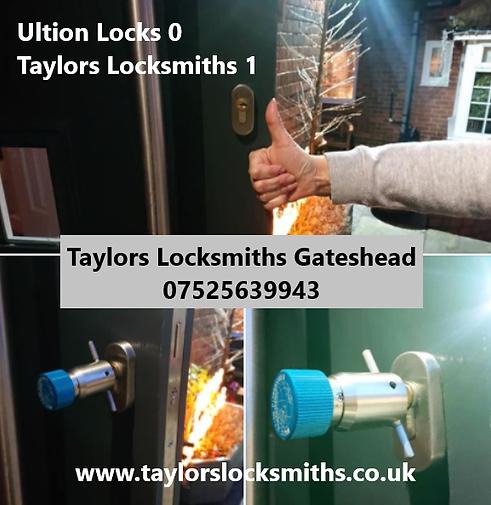 Ultion Locks, Gateshead Locksmith, Locks
