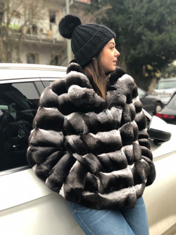 Chinchilla Jacke