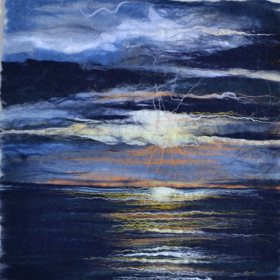 Sunset Findhorn