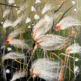 Cotton Grass Green
